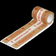 Ruban d´avertissement autocollant en papier