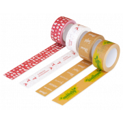 Ruban papier kraft adhésif avec impression