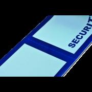 Etiquette de sécurité en PP