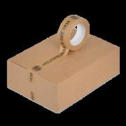 Ruban adhésif en papier imprimé individuellement
