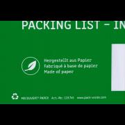 MECOUVERT® PAPER Pochette adhésive porte-documents