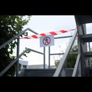 Ruban de signalisation non adhésif
