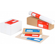 Pochettes porte-documents imprimées individuellement