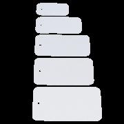 Etiquette à accrocher en PVC