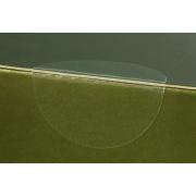 Pastille de fermeture transparente