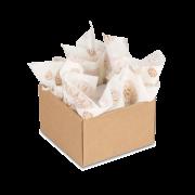 papier enrouleur orné pour présent & bouteille
