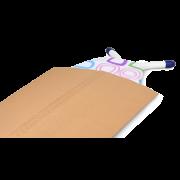 Gaine en carton ondulé
