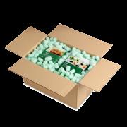 FILL-IN GREEN Flocons d'emballage bio Matériau de calage et de capitonnage