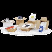 FILLIX Chips d'emballage Matériau de calage et de capitonnage