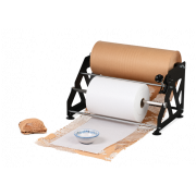Dérouleur pour MECAWRAP Système de calage de papier