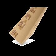 CARTONEC Protège-arête adhésif 50×50/3 mm