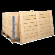 Rehausse palette & couvercle  en bois