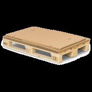 Conteneur-palette 4 pièces en carton ondulé