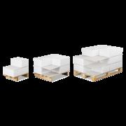 Plaque intercalaire pour palettes en carton compact