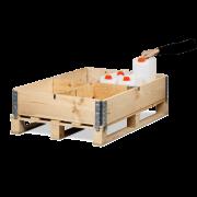 Séparateur pour rehausse palette en bois