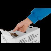 Set pour cerclage PP en carton distributeur