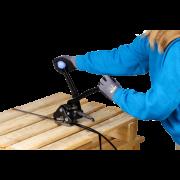 Appareil de cerclage pour feuillard de cerclage en acier