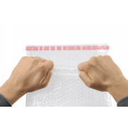 Pochette à bulles d' air avec fermeture adhésive