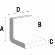 Profilé en L en carton ondulé