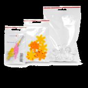 MECAFERM® Sachet à fermeture à pression 0,075 mm avec trou EURO