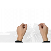 Housse de protection pour vêtements en LDPE
