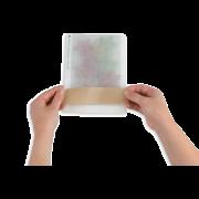 Sachet plat en papier cristal