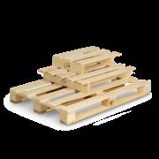 Palette perdue en bois