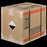 Carton pour matières dangereuses, testé par l'ONU 4G/4GV