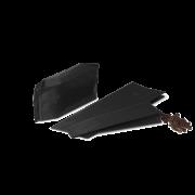 MECAVALVE Sachet aromatique à soufflet avec valve, noir mat
