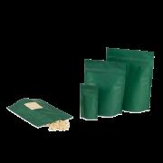 MEACASEAL Sachet aromatique à fond plat, vert mat