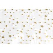 Sachet plat en CPP avec des étoiles