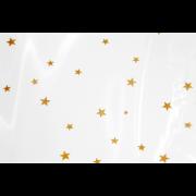 Sachet à fond croisé en OPP avec des étoiles