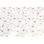 Sachet à fond plat en CPP avec des étoiles