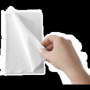Serviette en ouate de cellulose blanche