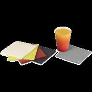 Serviette en ouate de cellulose colorée 24x24 cm, 1/4-pli