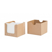 Boîte distributrice de serviettes