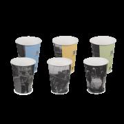 Gobelet pour boissons chaudes, couche PE «delicious memory»