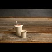 Gobelet pour boissons chaudes en bagasse revêtu de PLA SWEET