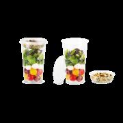 Gobelet de superposition en rPET pour Clear Cup en rPET