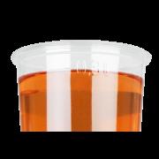 Clear Cup en rPET avec repère de niveau