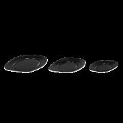 Plateau traiteur en EPS, ovale