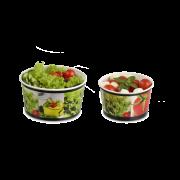 Bol a salade en carton