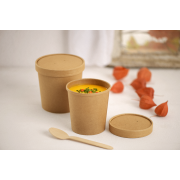 Couvercle en carton pour gobelet en papier/gobelet à soupe