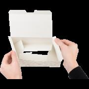 Boîte pliable pour snacks «FRISCH & fein»