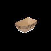 Barquette snack brune
