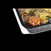 Barquette à menu/scellable en PP et couvercle