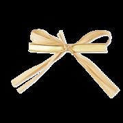 Clip à noeud sur láspect raphia