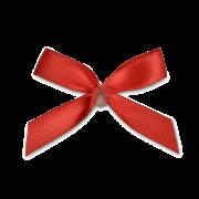 Forme de noeud avec point autocollant