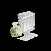 Corbeille grille pour ordures