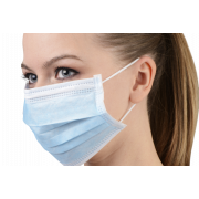 Masque chirurgical à usage unique bleu